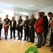 Inauguration du multi-accueil Marie Laurencin, mercredi 23 octobre 2019 à Villepinte (93)