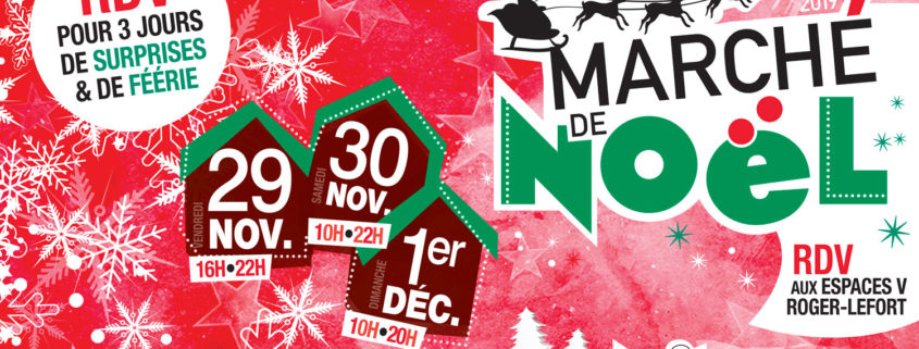 marché de Noêl de Villepinte du 29 novembre au 1er décembre aux Espaces V