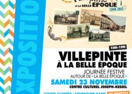 Exposition La Belle époque à Villepinte du 15 octobre au 28 novembre au Centre Culturel Joseph Kessel