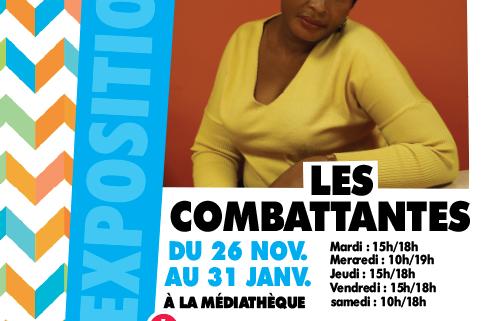 """Expo photo """"Les Combattantes"""" de Nolwenn Brod au Centre Culturel Joseph Kessel du 26 novembre au 31 janvier 2020"""