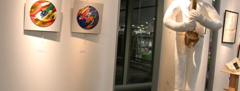 """Exposition """"Le Mouvement"""" dans le hall du Centre Culturel Joseph Kessel de Villepinte jusqu'au 18 janvier 2020"""