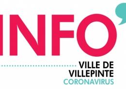 Informations et mesures prises à Villepinte concernant le Coronavirus