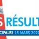 Résultats du premier tour des élections municipales de Villepinte -Dimanche 15 mars 2020