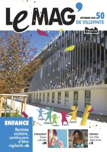 Le Mag' de Villepinte de septembre 2020 - Actualités municipales de la ville de Villepinte (93)Le Mag' de Villepinte de septembre 2020