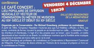 Le Café-concert : lieu populaire de diffusion musicale et vecteur de féminisation du métier de musicien au 19ᵉ siècle et 20ᵉ siècle