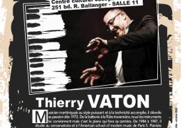 Masterclass de Thierry Vaton au CCJk de Villepinte, samedi 24 octobre, de 14 à 18 heures