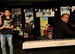 Ismael de The Voice Kids à la Masterclass de Thierry Vaton à Villepinte, le 24 octobre 2020
