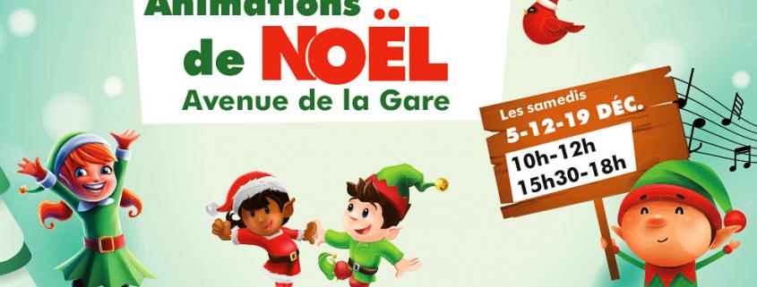 animations de Noël à Villepinte -Décembre 2020