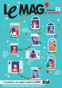 Une du Mag' de Villepinte du mois de décembre 2020 - Ville de Villepinte (93)
