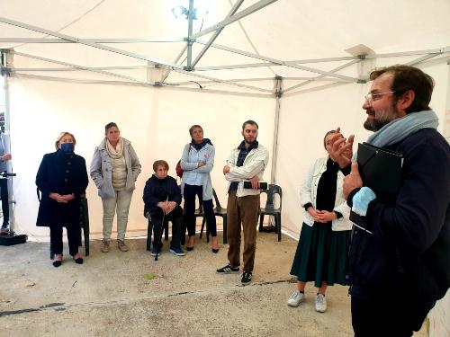 Réunion de concertation pour la requalification de la place du marché Montceleux - 18 octobre 2021