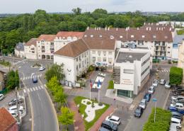 Quartier du Vieux Payx à Villepinte (93) et Hotel de Ville