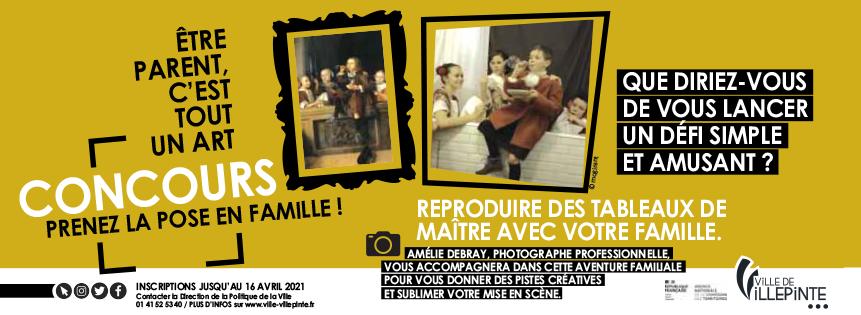 """Jeu-concours à Villepinte : """"Etre parent, c'est tout un art"""" !"""