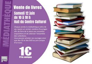 VVente de livres à la Médiathèque de Villepinte (93)ente de lvres à la Médiathèque de Villepinte (93)