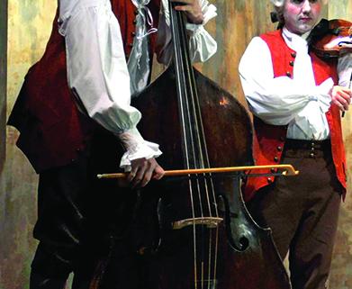 Spectacle de Mickaël Greenberg, professeur de contrebasse au conservatoire.