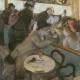 """Edgar Degas """"au cafe-concert"""" @the art institute of chicago"""