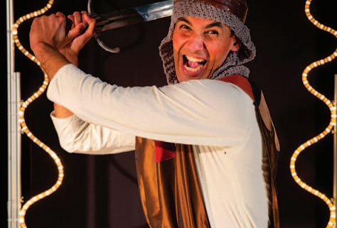 """Spectacle """"Elle était une fois : Lia & Ali"""" par la compagnie Synergies Théâtre mercredi 29 septembre à la Médiathèque de Villepinte"""