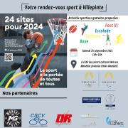 """Animations sport """"24 sites pour 2024"""""""