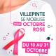 Villepinte se mobilise pour Octobre Rose du 10 au 31 octobre 2021